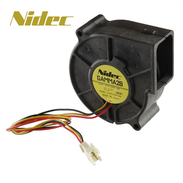 Nidec Gamma 28 Model D07F-12SM 75mm Blower Fan