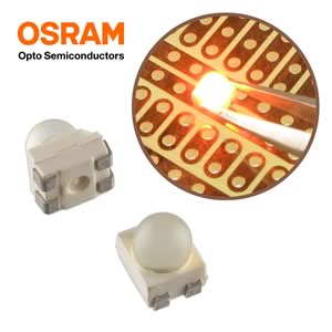 (Pkg 25) Osram LY E63B Ultra Bright Power TOPLED® Lens Yellow LED