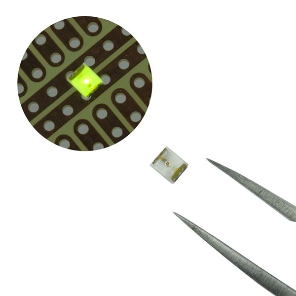 (Pkg 25) Chicago Miniature CMD11204G Green 3.0mm x 2.54mm SMD LED