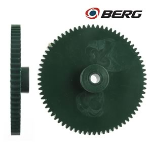 Berg Giant Green Precision 72 Tooth Gear