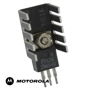 2N6040 60V 8A PNP Darlington Mounted TO-220 THM6079 Heatsink