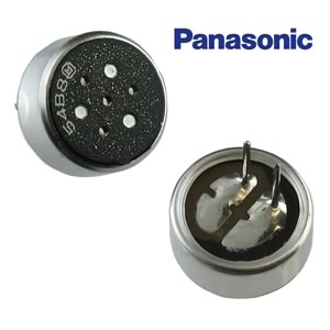 Panasonic WM-54B8 Omnidirectional Electret Microphone