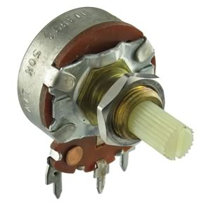 50K Linear Taper Panel Mount Potentiometer