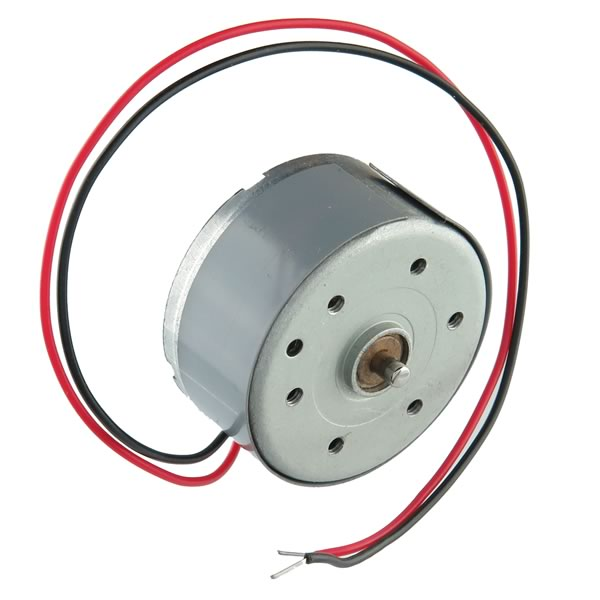DC Motor 1.9V 32mA 3450RPM with Short Shaft