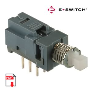 (Pkg 2) Latching DPDT Pushbutton Switch
