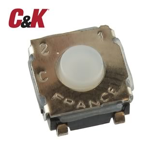 (Pkg 25) C&K Y28B23312FP SMD Tactile Pushbutton Switch