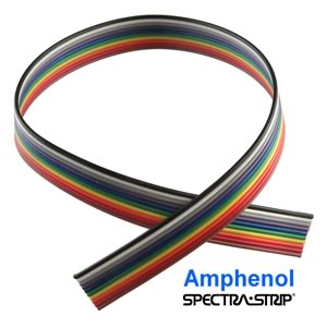 Amphenol Spectra-Strip® 10x24AWG Flat Ribbon Cable (Priced By The Foot)