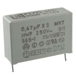 (Pkg 10) 0.47uF Interference Suppression Film Capacitor