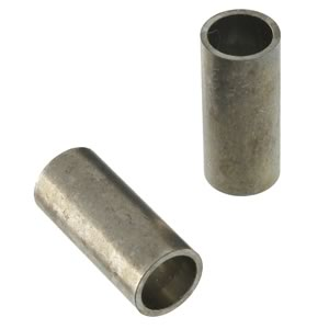 (Pkg 10) Aluminum Single Barrel Crimp Sleeve or Spacer 0.218