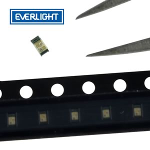 (Pkg 25) Ultra Miniature Everlight Blue SMD LED 11.5mcd Output