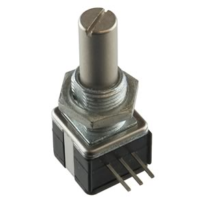 100K Panel Mount Linear Taper Potentiometer with 1/4