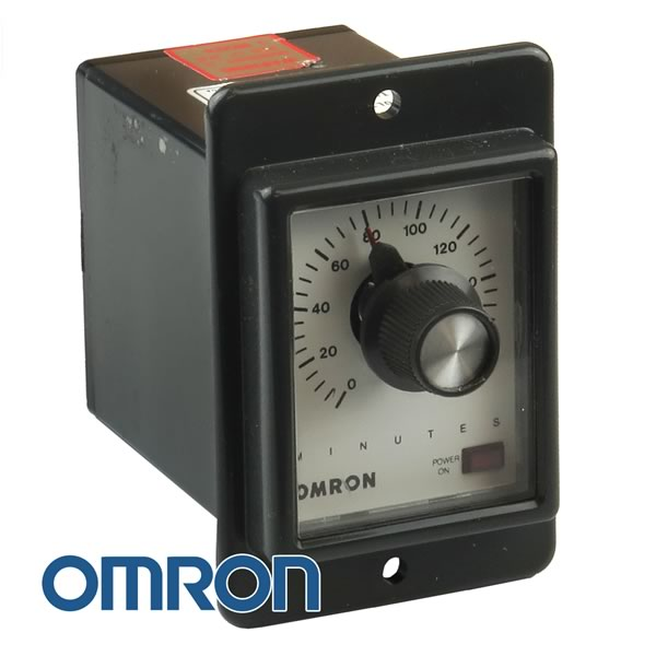Omron STPMYDAI 120VAC 0-180 Minute Adjustable Time Delay Relay