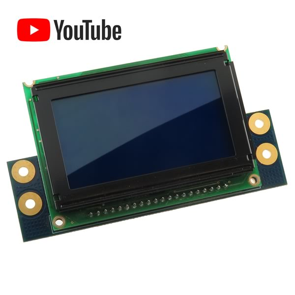 LCD Module with Blue Backlight, E211670, Skye 51104010B