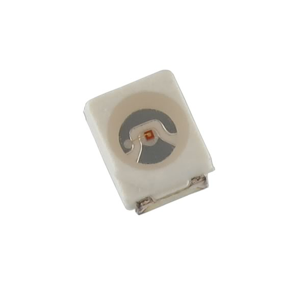 (Pkg 25) Green SMD LED, PLCC-4, Chicago Miniature CMD67-21VGC/TR8