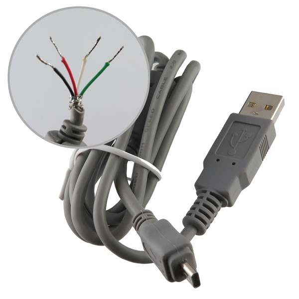 (Pkg 3) Male USB Cable