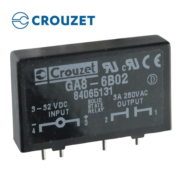 CLEARANCE! Crouzet GA8-6B02 Solid State Plug-in Relay SPST-NO 3AMP