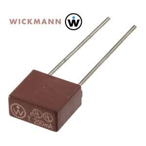 (Pkg 3) Wickman 250mA Slow Blow Micro Fuse