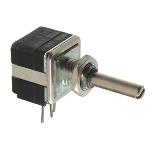 100K Panel Mount Linear Taper Potentiometer with 1/8
