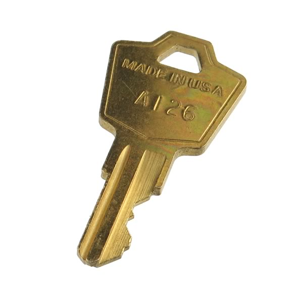 Extra Key for (G23958) Panel Mount Keylock Switch