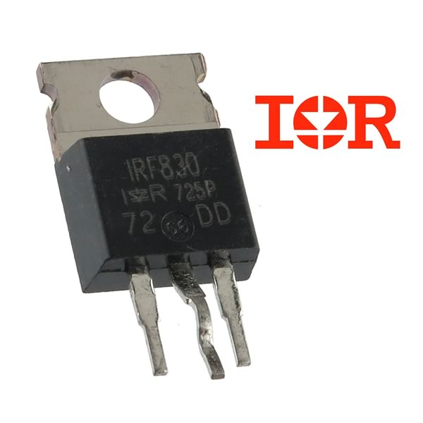 CLEARANCE! (Pkg 5) International Rectifier IRF 830 500V 4.5Amp N-Channel MOSFET