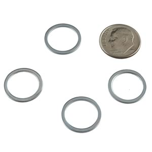 (Pkg 25) Steel Shim Flat Washer, 1/2