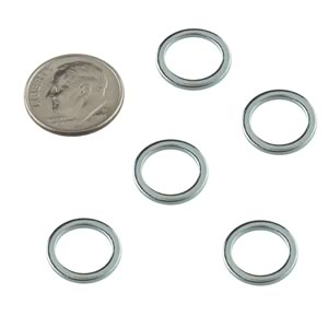 (Pkg 25) Steel Shim Flat Washer, 3/8
