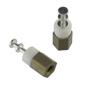 (Pkg 4) Cambion High Quality Insulated Turret Thread Mount Terminal 6-32
