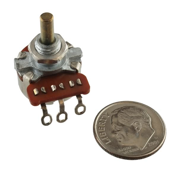 50K Linear Taper Potentiometer with 1/8