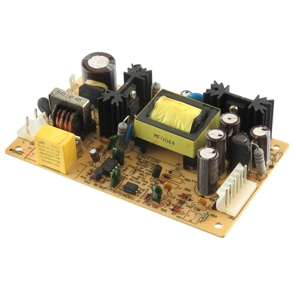 Electronic Goldmine G24046 Compact Switching Power Supply Module PTE43-5V  100-240VAC Input - 5VDC 8Amp Output