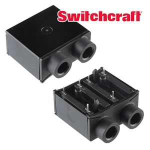 Switchcraft Dual Female 1/4