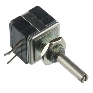 500Ω Panel Mount Linear Taper Potentiometer