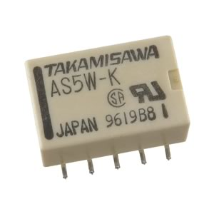 Takamisawa AS5W-K 5VDC DPDT SMD Relay