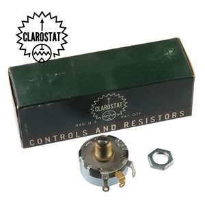 Clarostat Panel Mounting Wirewound 200Ω Potentiometer