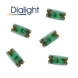 (Pkg 25) Dialight Tiny Green SMD LED