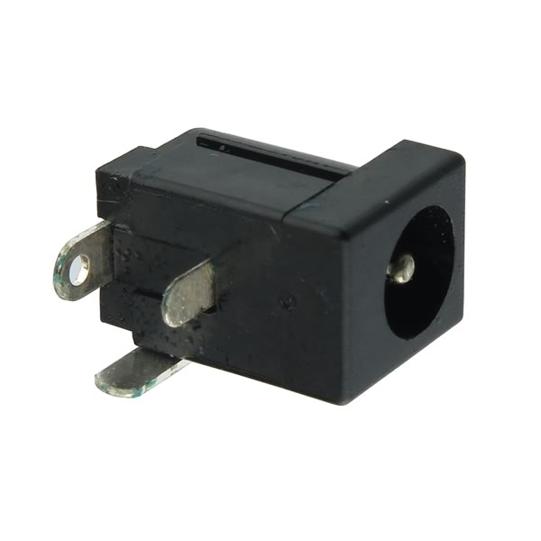 (Pkg 4) Female Power Jack for 5.5mm Barrel Plugs with 1.7mm