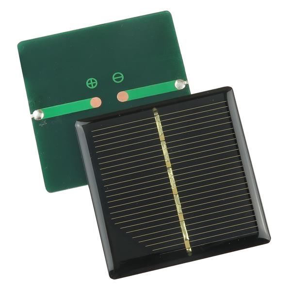 (Pkg 2) Super Sturdy 2.95V 0.135Amp Silicon Solar Cell Panel