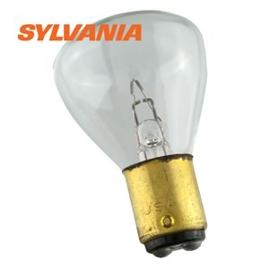 CLEARANCE! #1184 Miniature Bulb, 5.5V, 34W, Double Contact Bayonet BA15D Base