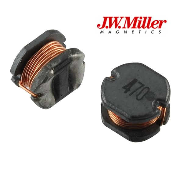 (Pkg 2) J.W. Miller 47uH ±10% SMD 1.1A Power Inductor PM75-470K