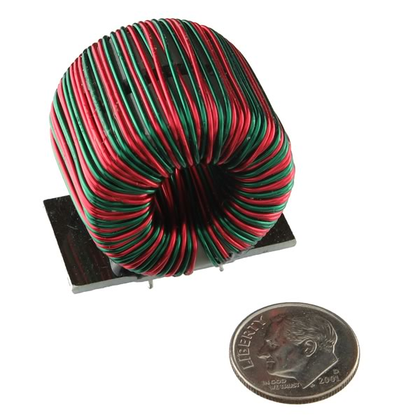 Heavy Duty 172uH Dual Core Dual Inductor