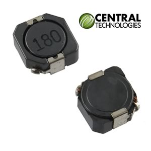 (Pkg 2) Central Technologies 18uH ±30% Shielded SMD 3.20A Power Inductor, CTCDRH105RF