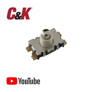 (Pkg 10) Unique C&K Micro Mini KSU213W Surface Mount Detect Switch