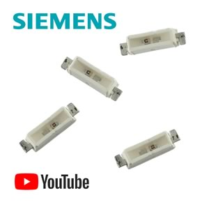 (Pkg 20) Siemens LY C6876-PO Yellow SMD Hyper-Bright SIDELED®
