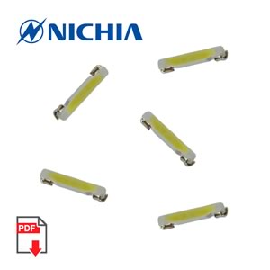 SALE! (Pkg 10) Nichia NSSW206CT 8.25 Lumen White SMD LED
