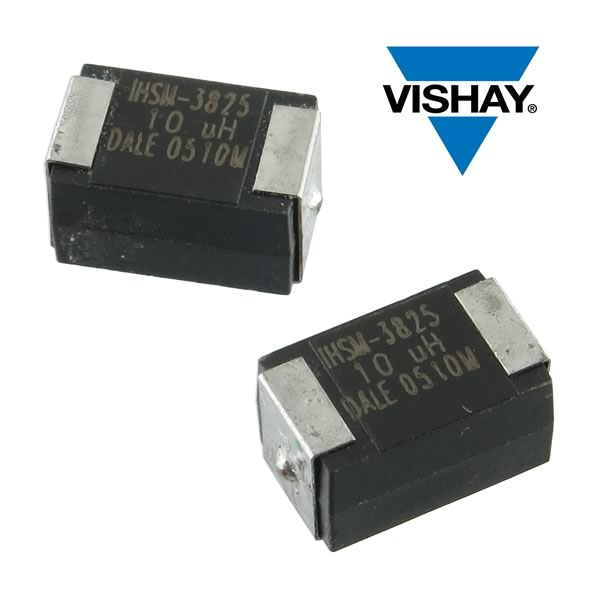 (Pkg 5) Vishay Dale 10uH ±15% SMD 1.74A Power Inductor, IHSM-3825