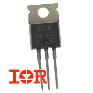 IRF530 100V 14Amp N-Channel Mosfet by IR