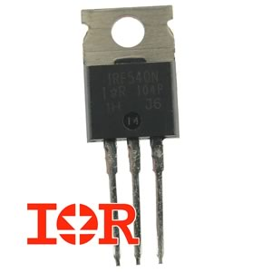 IRF540N 100V 33Amp N-Channel Mosfet by IR