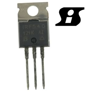 Siliconix IRF540 100V 28Amp N-Channel Mosfet