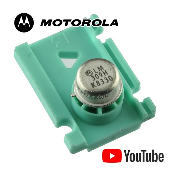 Vintage Motorola TO-39 LM309H Voltage Regulator