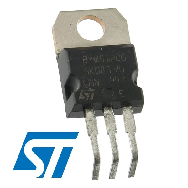 (Pkg 2) ST BYW51-200 200V 10Amp Fast Recovery Diodes