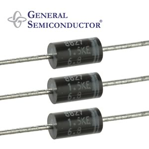 (Pkg 5) General Semiconductor IN6267 - 1500W TVS Diode 5.5V 10.8V 1.5KE
